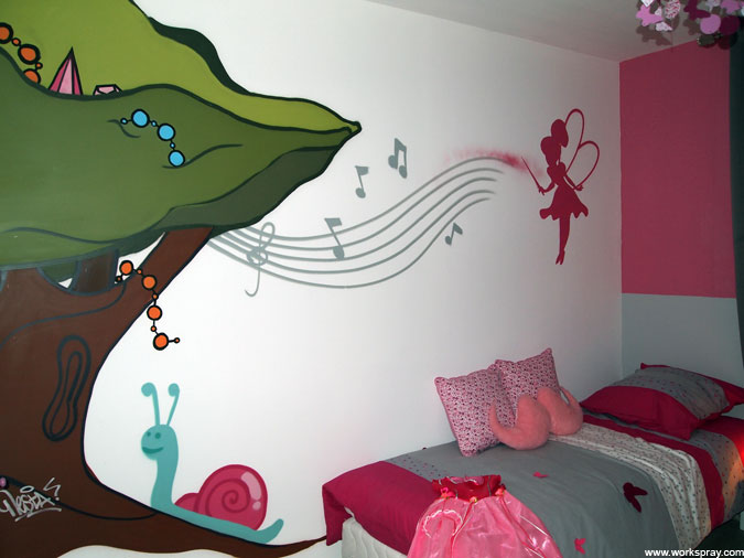 Workspray d coration chambres d 39 enfant tous - Emission de decoration maison ...